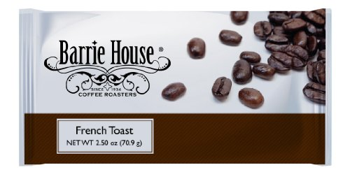 Barrie House French Toast Coffee 2.50 Oz. Portion Pack 24ct