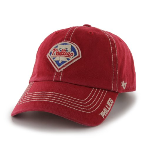 MLB Philadelphia Phillies Men's Grapple Relaxed Fitted Cap, One-Size, Red at Amazon.com