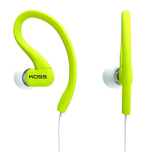 Koss KSC32L Fitclips Headphones, Lime
