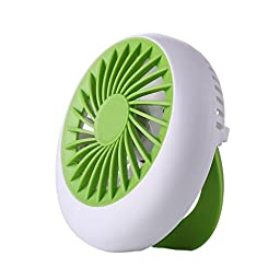 The Snail Fan Portable Mini USB Rechargeable Cooling Replenishment Fan Powered by 18650 Rechargeable Portable Mini Fan
