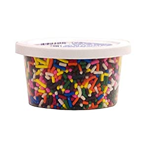 Cake Mate Toppings, Rainbow Decor, 2.50-Ounce (Pack of 12)