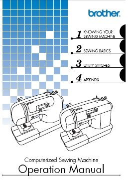 Brother Sewing Machine Model Es 2000 Instruction Manual
