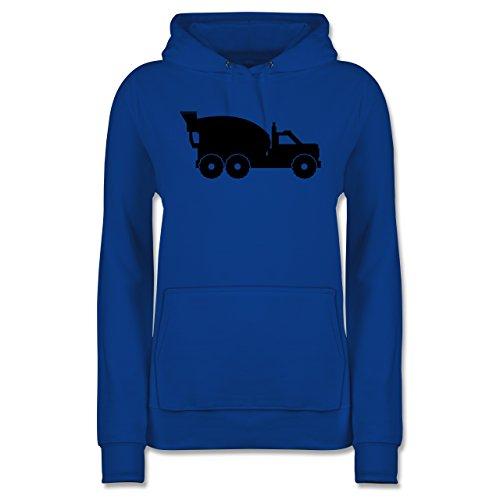 andere-fahrzeuge-betonmischer-xl-royalblau-jh001f-damen-premium-kapuzenpullover-hoodie