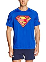 Under Armour Camiseta Manga Corta Alter Ego Core Superman (Azul Royal)