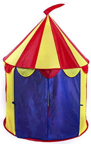 Kiddey-Circus-Pop-Up-Play-Tent-for-Kids-  sc 1 st  Discount Tents Nova & Kiddey Circus Pop Up Play Tent for Kids u2013 Indoor/Outdoor Use u2013 Fun ...
