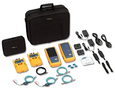 Fluke Networks CFP-100-M 120 CertiFiber Pro Multimode Optical Loss Test Set Kit