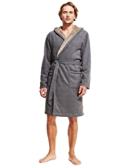 North Coast Bonded Fleece Dressing Gown