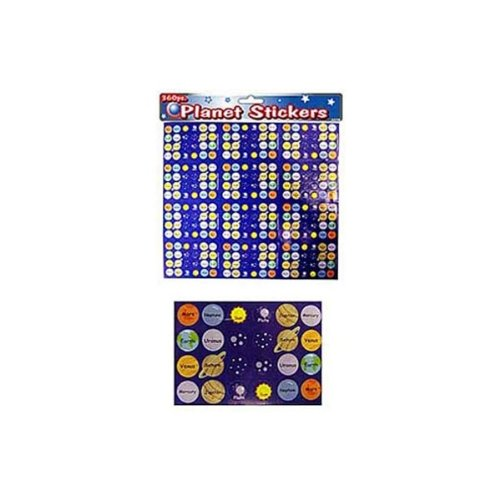 360 Piece Planet Stickers
