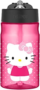 Thermos Tritan Hydration Bottle, Hello Kitty, 12-Ounce