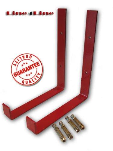 Ladder storage hook, bracket (Pair)