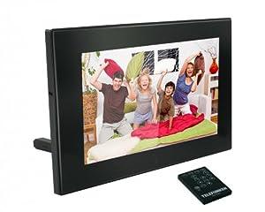 """Telefunken DPF 7904 Cadre photo numérique LED 7"""" Noir"""