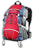 AspenSport AB04R02  - Zaino da trekking, 40 litri, Colore: Rosso
