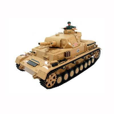 Airsoft Radio Controlled Tank Panzer IV Ausf F1