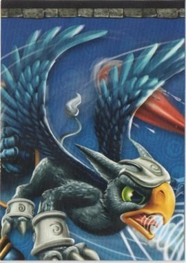 Skylanders Giants No. A2 PUZZLE - Puzzle Card Individuelle Trading Card