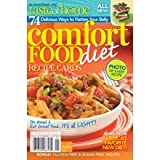 Comfort Food Diet Recipe Cards magazine by Taste of Home: 74 Delicious Ways to Flatten Your Belly
