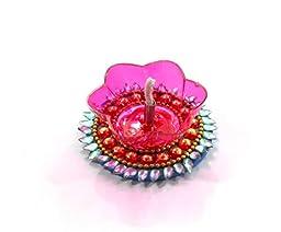 Amba Handicraft Floating Diwali Pooja Diya for Gift/Special Home Décor -02