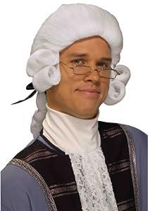 Forum Novelties Men's Colonial George Washington Historical Costume Wig from Forum Novelties Costumes