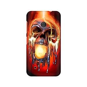 Mobicture Skull Paint Premium Printed Case For Nokia Lumia 530
