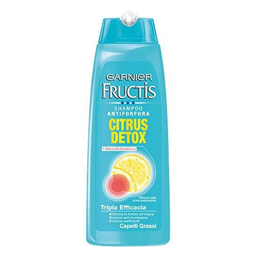 Garnier Fructis Shampoo Fortificante Antiforfora, Citrus, 250 ml, 1 pezzo
