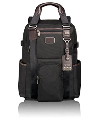 Tumi Alpha Bravo Lejune Backpack Tote, Hickory, One Size