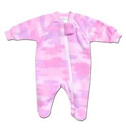 IBB Pink Camo Polar Sleeper - Preemie