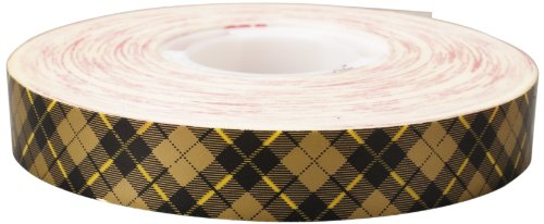Scotch ATG Adhesive Transfer Tape Acid Free 908 Gold, 0.50 in x 36 yd 2.0 mil (Pack of 1)