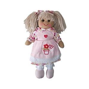 Flower Pot Rag Doll - Handmade - Medium 19cms - Powell Craft