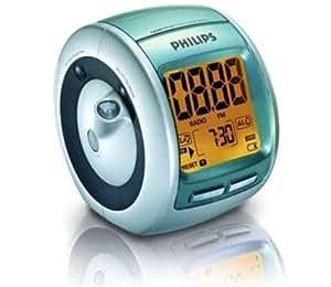 Philips AJ3600/00C Radio-réveil Double alarme Tuner numérique Projection heure Réveil progressif