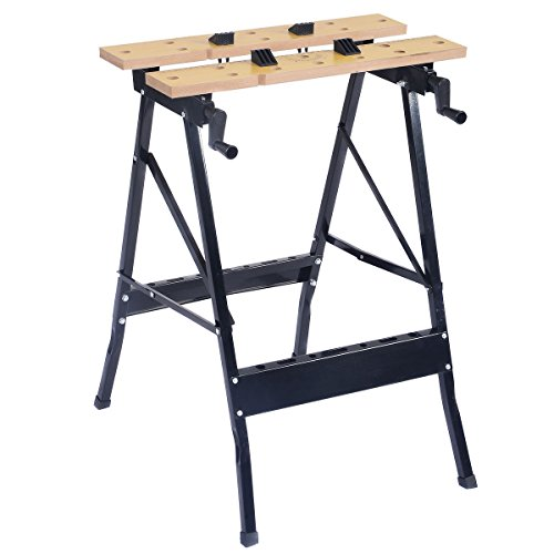 Goplus® Portable Work Bench Folding Table Tool Garage Repair Workshop (Portable Tool Bench compare prices)