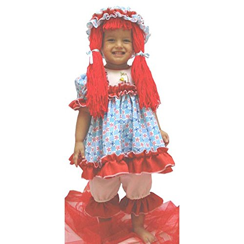 Child's Toddler Deluxe Rag Doll Costume (1-2T)