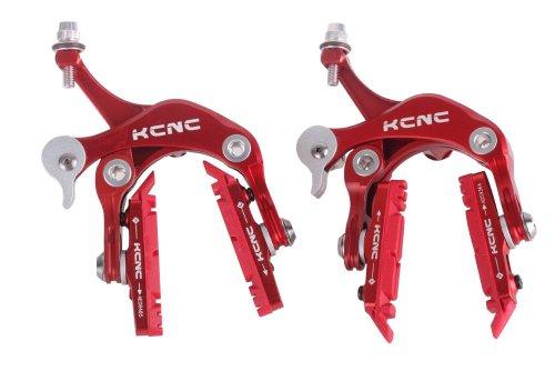 Buy Low Price KCNC CB1 Road Bike Brake Caliper Set Alloy 7075 Red 164g pair (MKcCaCB1R)