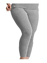 R S Creation Grey Thermal Pyjama For Women
