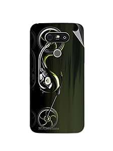 Miicreations Mobile Skin Sticker For LG G5,Bike Pattern