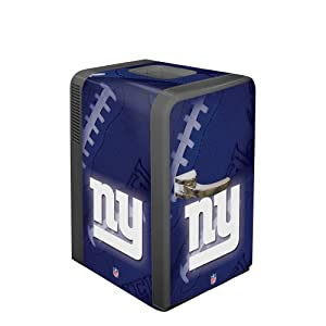 NFL New York Giants Portable Party Refrigerator