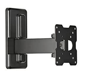 Meliconi ER 100 Support Mural Inclinable et Orientable pour TV LCD  14 à 25'' pour Sony / Samsung / Toshiba / LG / Philips