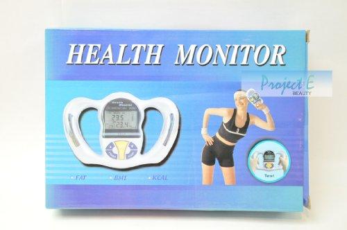 Image of Digital Body Fat Analyzer Health Monitor BMI Meter Handheld Tester Calculator (PE099)