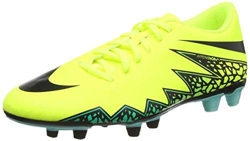 Nike Uomo Hypervenom Phade II FG scarpe da calcio, Giallo (Amarillo (Amarillo (Volt/Black-Hyper Turq-Clr Jade))), 42.5 EU