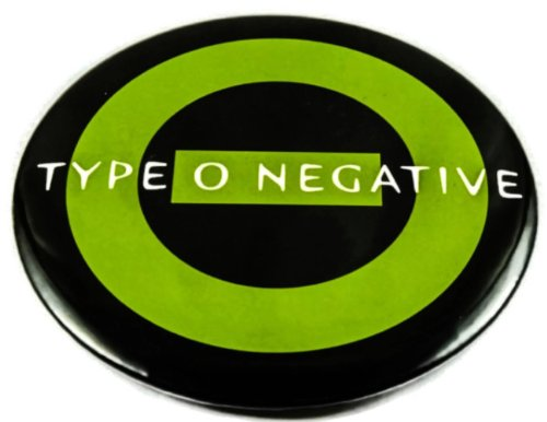 """Type O Negative (1) Awesome 3-In-1 Features Jumbo 3.75"""" Pin Stand Button Badge"""