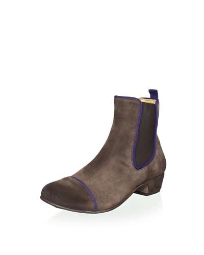 Kickers Women's Gallagher Ankle Boot  - Dark Brown