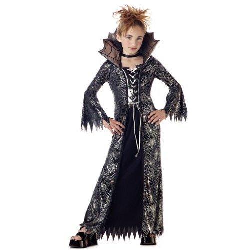 california costume child spiderella costume in blacksilver dress only feature