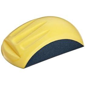 "Norton+Abrasives+-+St.+Gobain Norton Ergonomic Palm Sander for 6"" Diameter Pressure Sensitive Adhesive Abrasive Paper Disc (Pack of 5)"