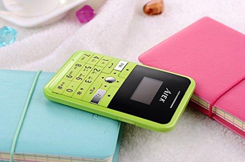 Green Aiek V9 Mp3 Bluetooth Fm Radio Gsm Mini Mobile Cell Phone Ultrathin Gps