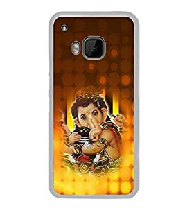 ifasho Lord Ganesha with linga Back Case Cover for HTC One M9