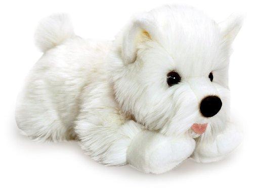 Angus Westie West Highland White Terrier Hund Stofftier / Plüschtier 35cm