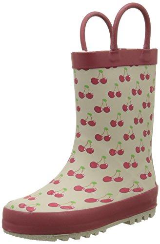 Be OnlyCherry - Stivali da pioggia a metà polpaccio Bambina , Rosa (rosa), 22