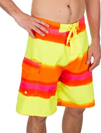 Sakkas 0194SBM Boardshort Patins Surf Franco - Jaune / Orange - P