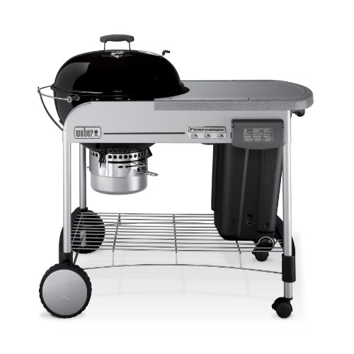 Weber 1421001 Performer Charcoal Grill, Black