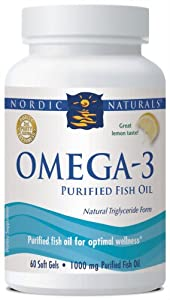 Nordic naturals omega 3 purified fish oil 60 for Nordic naturals fish oil for dogs