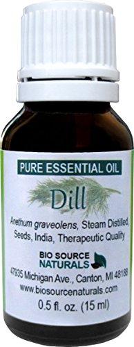 Dill Pure Essential Oil 0.5 fl / 15 ml