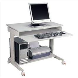 Twinco M568109 Mobiletto Portacomputer con Ruote, Lunghezza 90 cm